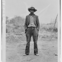 Mexican field worker, father of six. Imperial Valley, Riverside County, California. March, 1935.