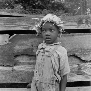 Grandson of Negro tenant whose father is in the penitentiary. Granville County, North Carolina. July, 1939.