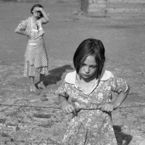 Washington, Yakima Valley, near Wapato. One of Chris Adolph's younger children. Farm Security Administration Rehabilitation clients. August, 1939.