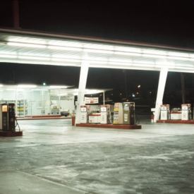 Gas station, Las Vegas, 1968