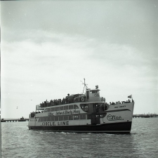 Circle Line ferry boat tour, New York City, 1960's