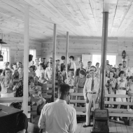 All day community sing, Pie Town, New Mexico.1940