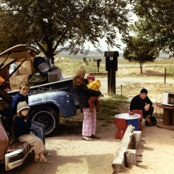Red Rock State Campground, Gallup, New Mexico, September, 1982