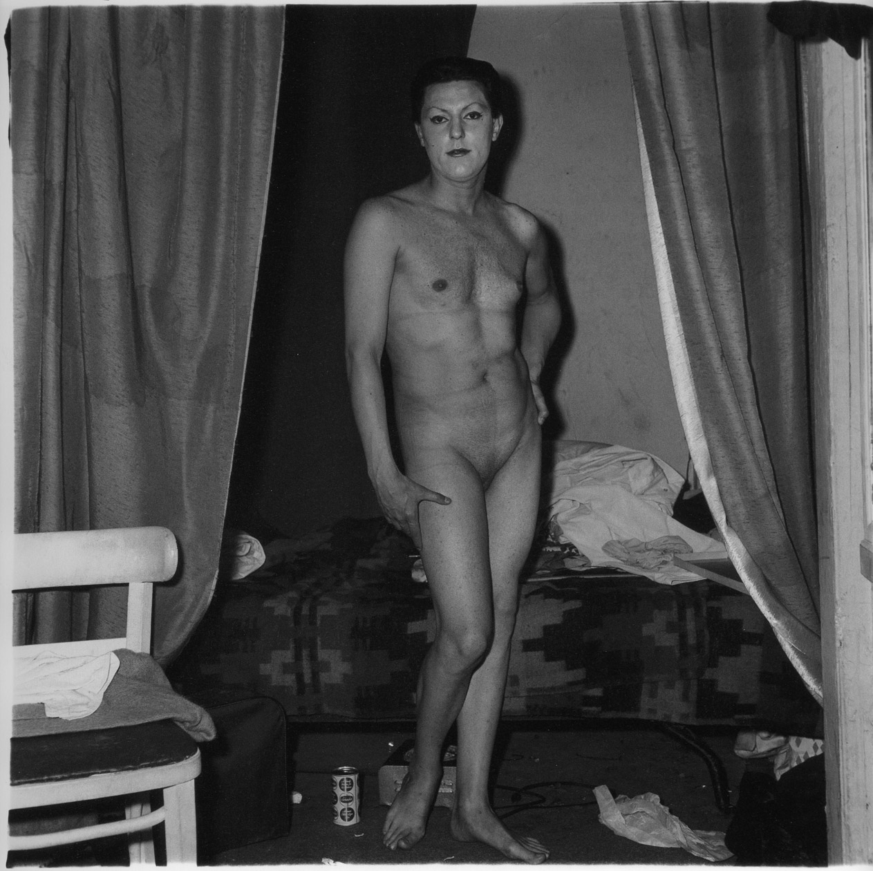 Diane Arbus, Man Being a Woman, 1960s