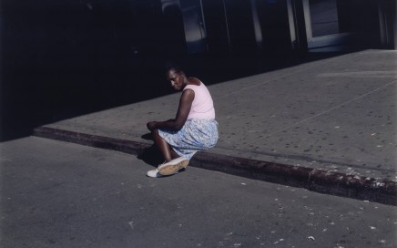 Untitled #38, Woman on Sidewalk, New York, 2002 2002 by Paul Graham born 1956