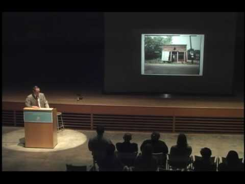 "ASX.TV: William Christenberry – ""Lecture"" (2009)"