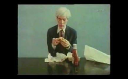 """ASX.TV: Andy Warhol – """"Andy Warhol Eats a Hamburger"""""""