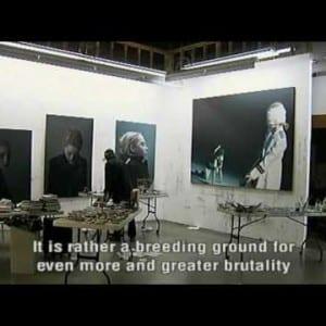 """ASX.TV: Gottfried Helnwein – """"Henwein in his LA Studio"""" (2011)"""