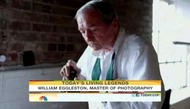 """ASX.TV: William Eggleston – """"Living Legends"""" (2011)"""