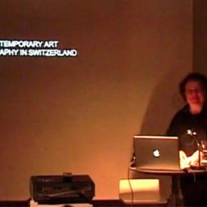 "ASX.TV: Urs Stahel – ""Plattform Symposium"" (2009)"