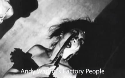 """ASX.TV: Andy Warhol – """"Andy Warhol's Factory People"""""""