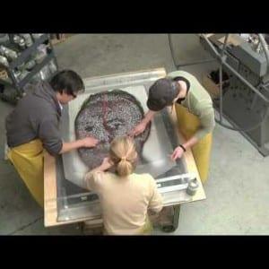 """ASX.TV: Chuck Close – """"Roy Paper/Pulp Time Lapse"""" (2010)"""