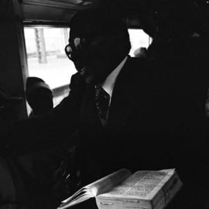 "SANTU MOFOKENG: ""Photographing Resistance to the Menace and Alienation of Apartheid Transport – Santu Mofokeng's 'Train Churches'"" (1996)"