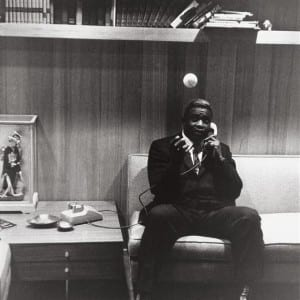 "GARRY WINOGRAND: ""Jackie Robinson at Home in Connecticut"" (1961)"