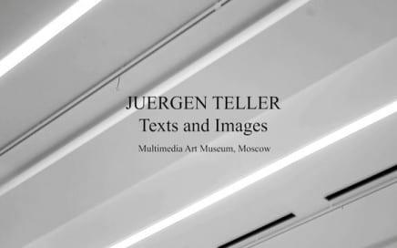 """ASX.TV: Juergen Teller – """"Text & Images"""" (2011)"""