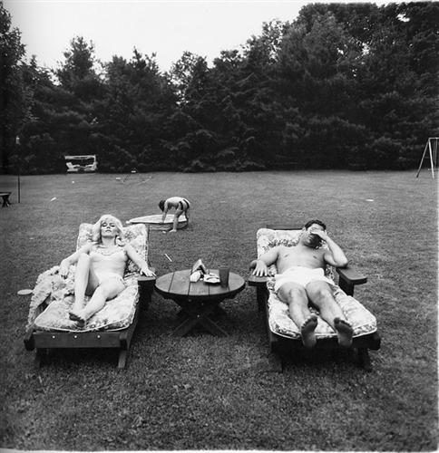 diane arbus A family on their lawn one Sunday in Westchester, N.Y. 1968
