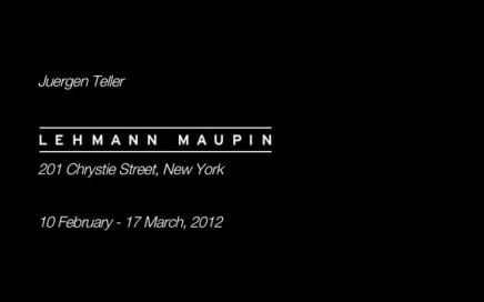 "ASX.TV: Juergen Teller – ""Juergen Teller Exhibiton at Lehmann Maupin Gallery"" (2012)"