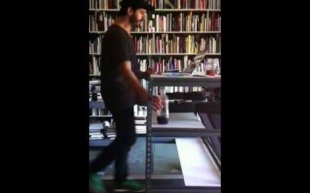"""ASX.TV: Alec Soth – """"Treadmill Desk"""" (2011)"""