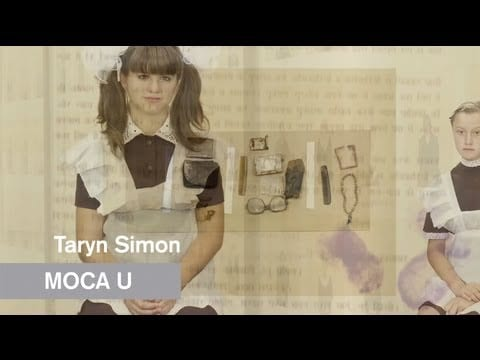 "ASX.TV: Taryn Simon – ""A Living Man Declared Dead – MOCA U – MOCAtv"" (2012)"