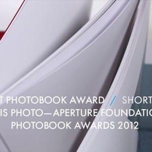 "ASX.TV: Paris Photo – ""First PhotoBook Shortlist / Paris Photo – Aperture Foundation PhotoBook Awards"" (2012)"