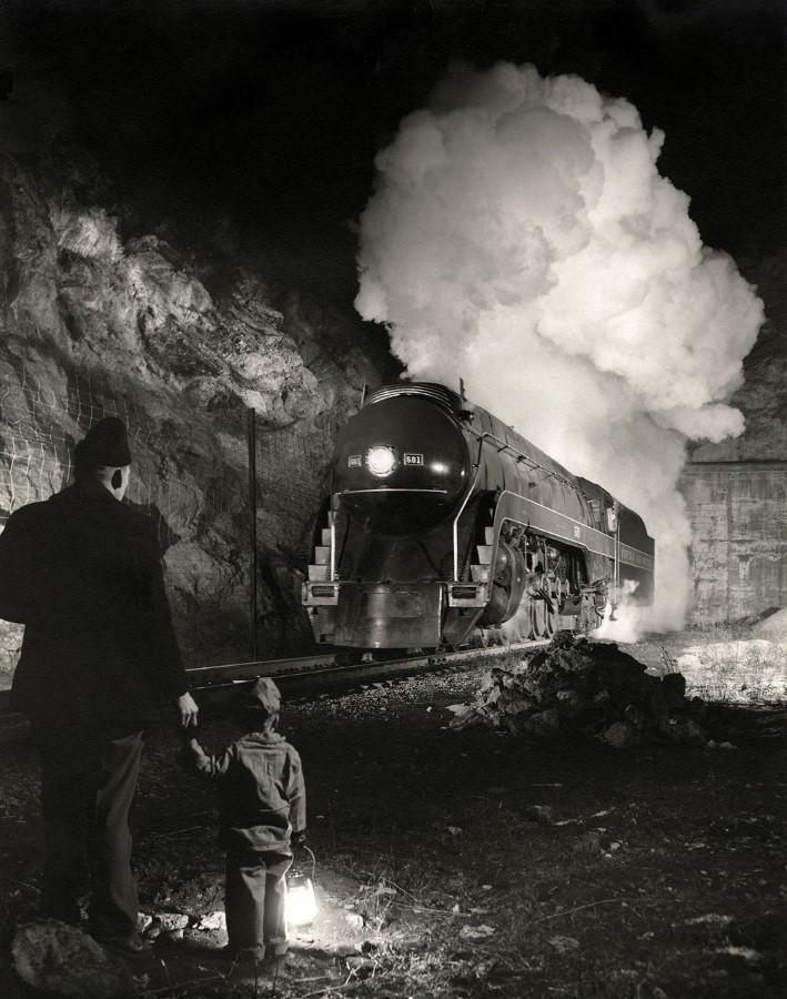 "O. WINSTON LINK: ""AMERICAN RAILROADS"" – AMERICAN SUBURB X"