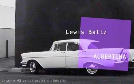 """ASX.TV: Lewis Baltz """"At Albertina"""" (2013)"""