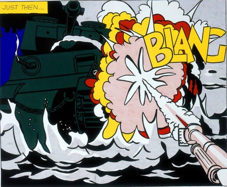 Roy Lichtenstein - Live Ammo (Blang!), 1962