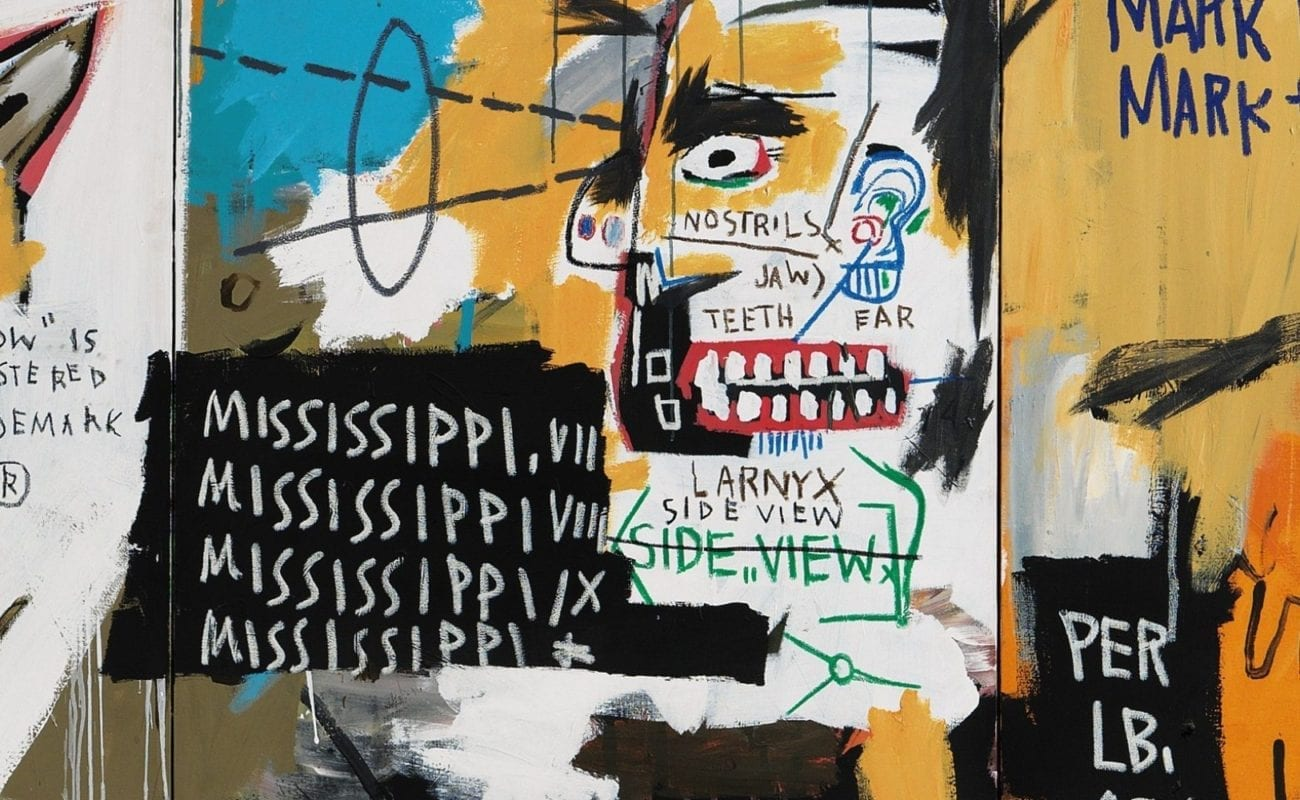 New York Graffiti T-Shirt Abstract Basquiat Afro Picasso Brooklyn Art New