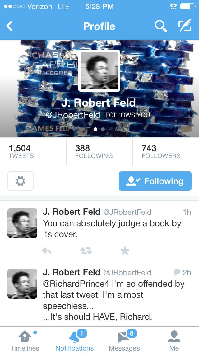 J. Robert Feld (Profile)