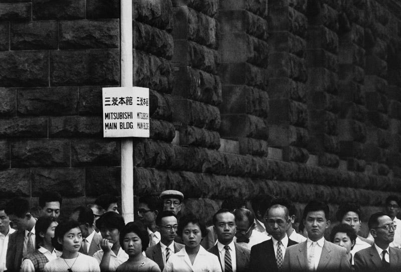 shigeichi-nagano-shigeichi-nagano-workers-at-5pm-marunouchi-1959
