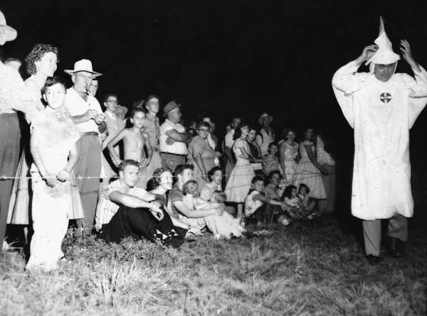 KKK Cross Burnings, the Garden of Eden and Florida Family Life in the 1950's