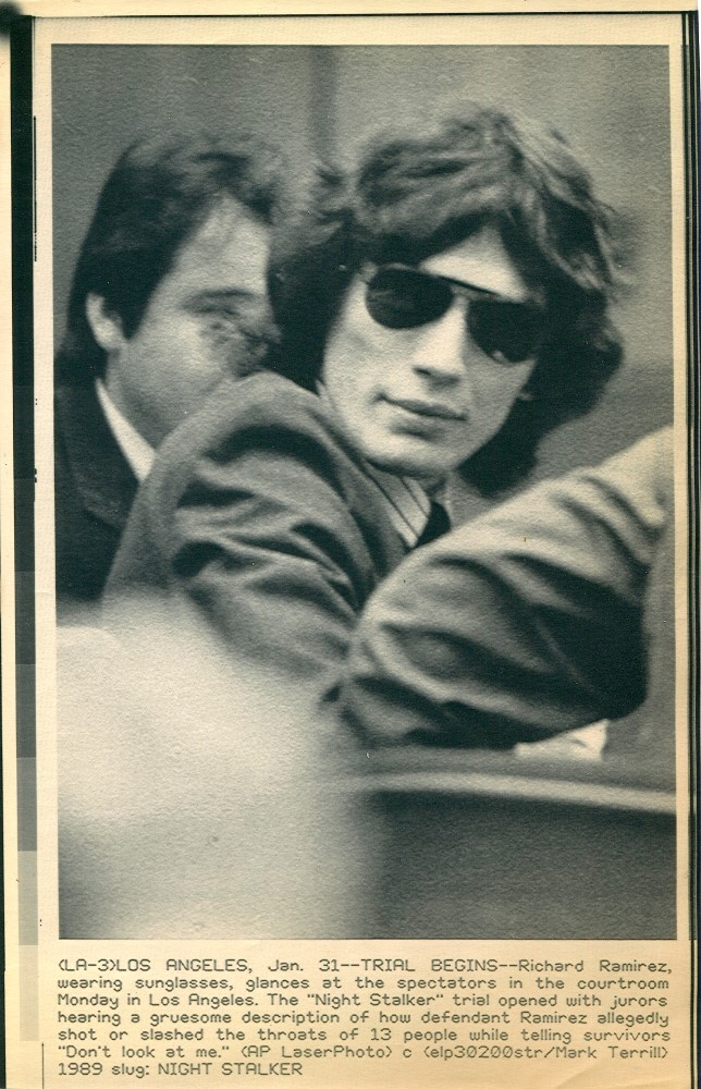 """essay on richard ramirez Introduction this paper presents a case analysis of richard ramirez, the serial killer of the 1980s better known as """"the night stalker"""" using the qualitative."""