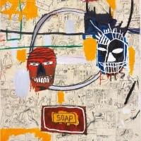 Jean-Michel Basquiat Untitled (Soap), (1983-84) (Custom)