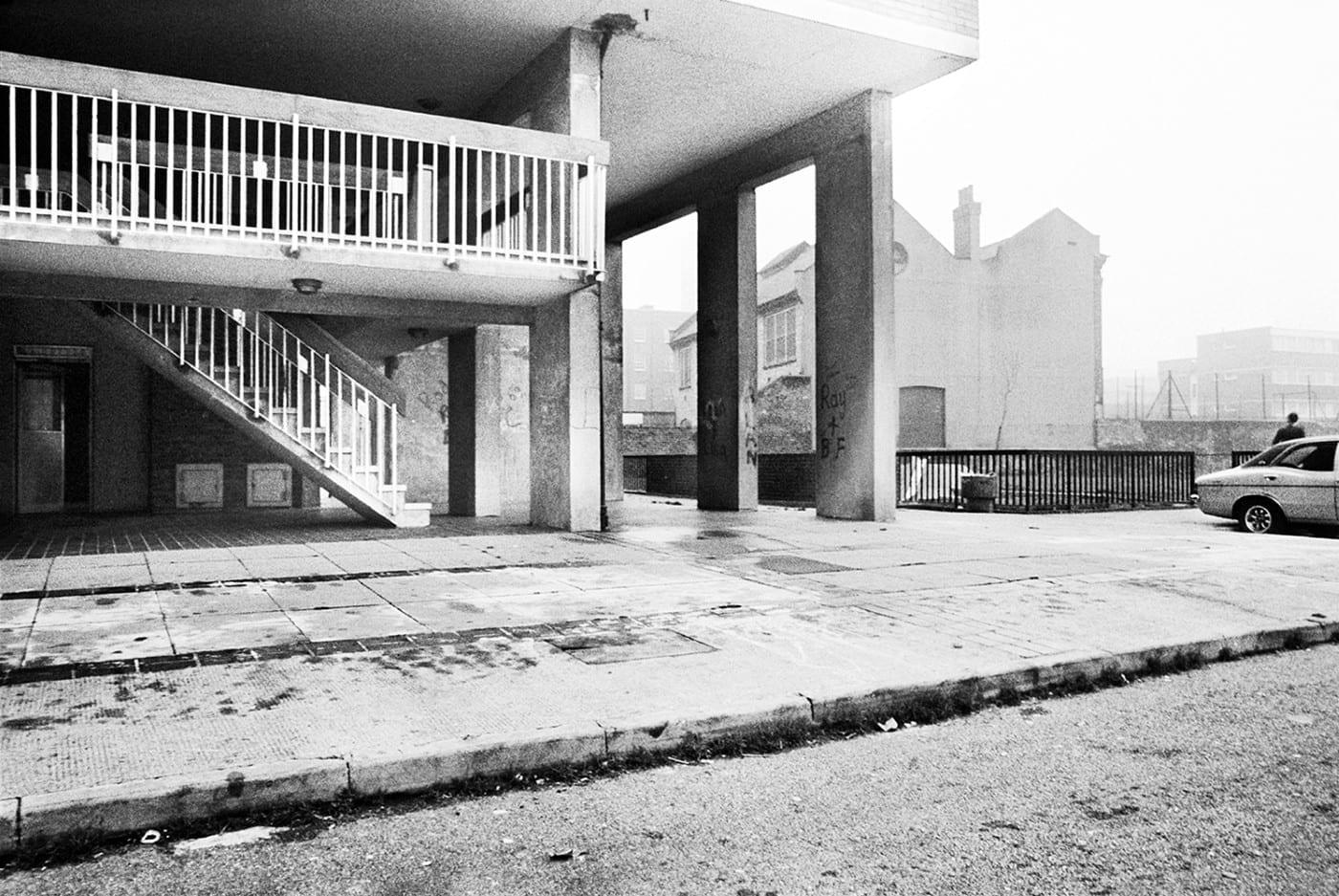 Dixon House, Squat (16th Floor), Latimer Road, 1980 C-Print Photograph (Custom)