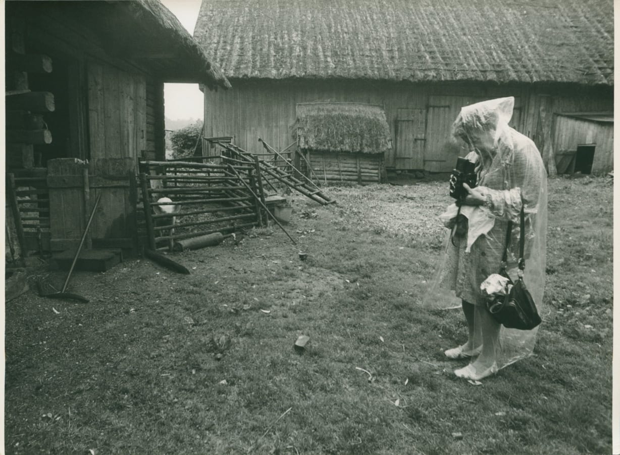 Zofia Rydet at work, 1980